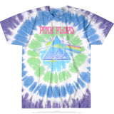Pink Floyd Dark Side Oil Paint Tie-Dye (Prp/Blu) /D4