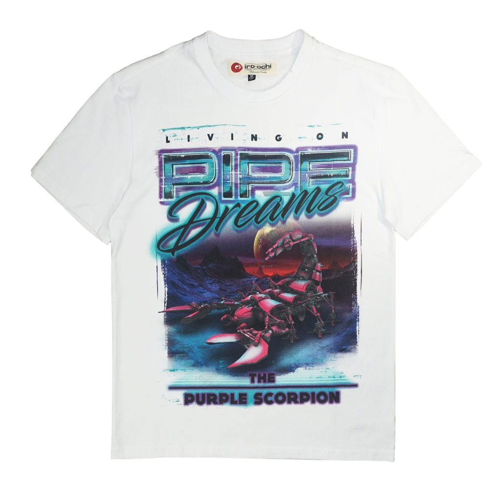 Pipe Dreams Tee (White) /D18