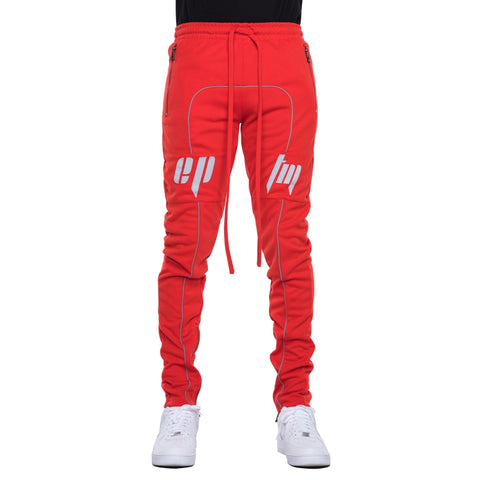 EPTM Reflective Track Pants (Red) / D15