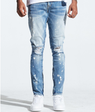 Distressed Pacific Denim (Light Blue) /C9