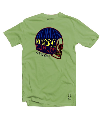 Skull Mind Tee (Smith Green)