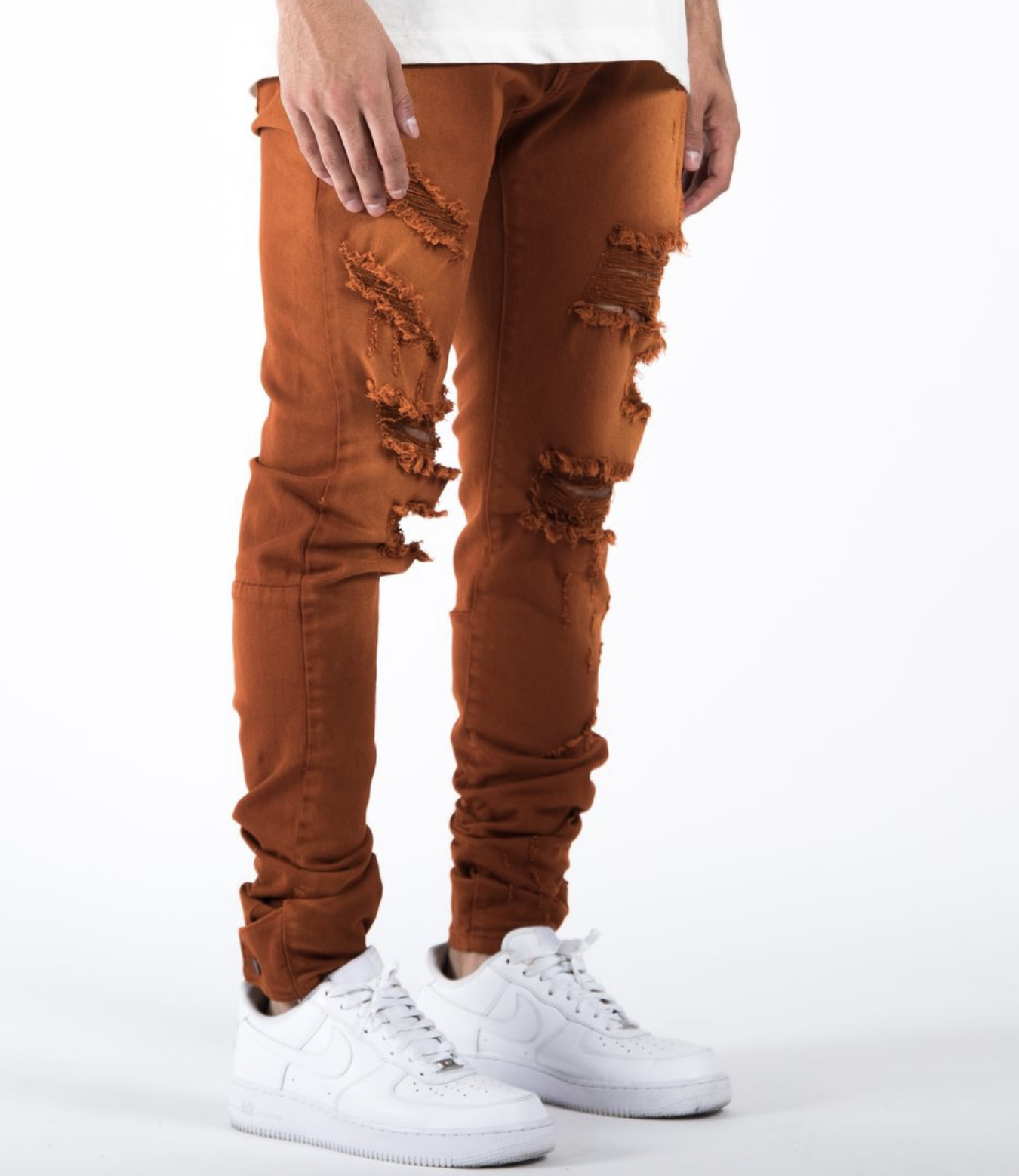 The Union Distressed Ox Denim (Orange) /C2