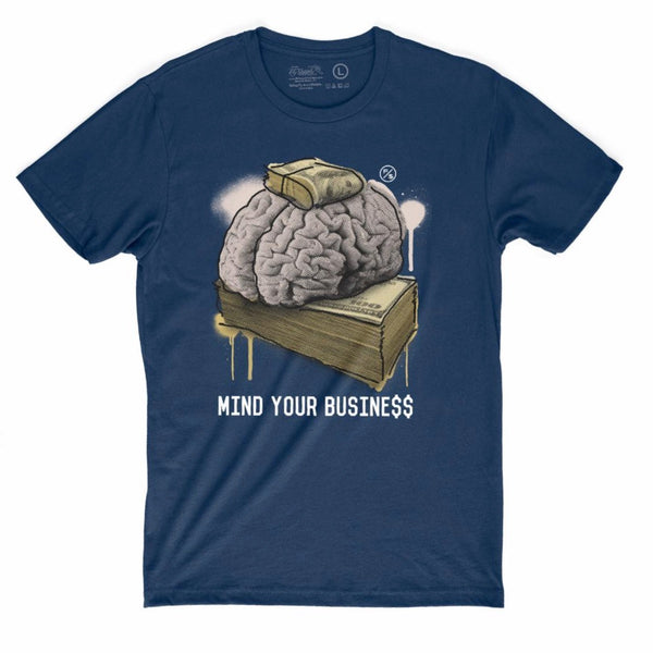 Mind Your Business (Navy)