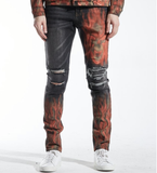 Atlantic Distressed Denim (Black) /C3