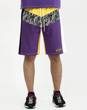 Zebra Chevron Shorts (Yellow) / D9