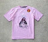 All Good Chain Stitch Tee (Lt Pink) /D7