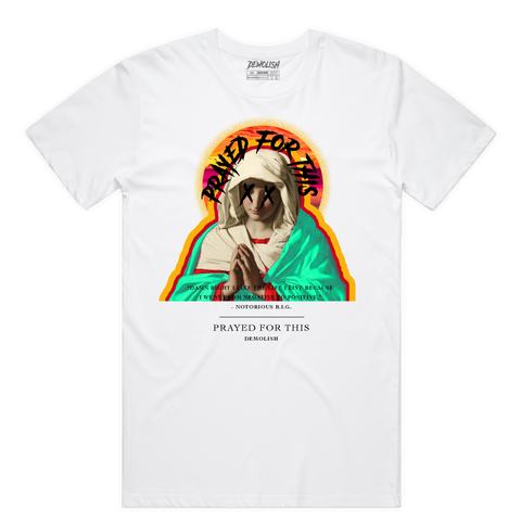 Prayed For This Tee (Wte/Multi) /D5
