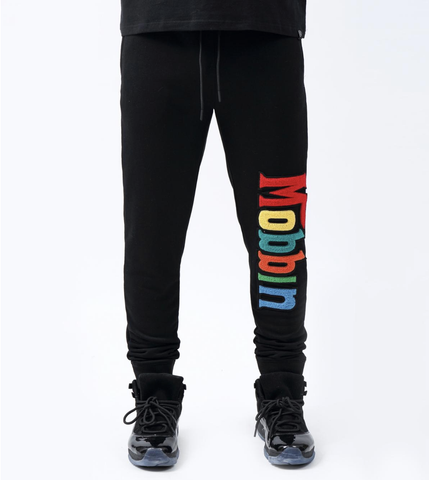 Mobbin Track Pants (Black) / D9