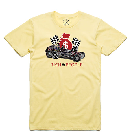 Race to the Bank Tee (Yellow) / D16