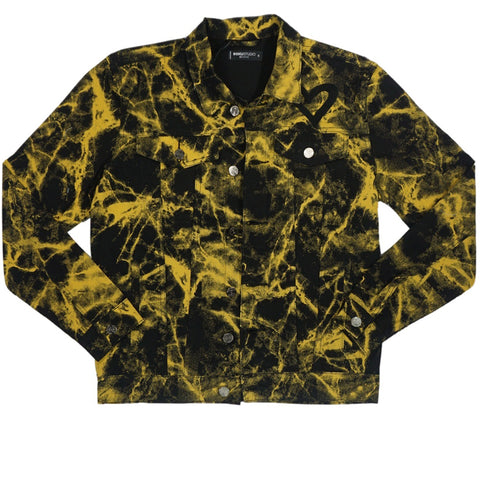 Love Tie Dye Jacket (Gold) /D4