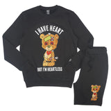 Heartless Shorts Set (Black)/C1