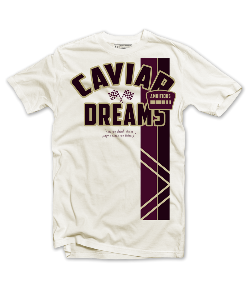 Roman Numerals - Caviar Dreams Tee (Cream)