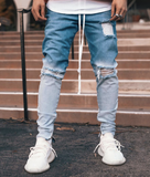 Snowfade Distressed Jeans (Blue) / C6