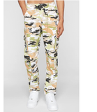 Camo Sateen Pants (Guac) / D11