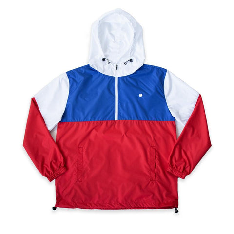 Pastel Windbreaker Jacket (Royal Combo) / D2