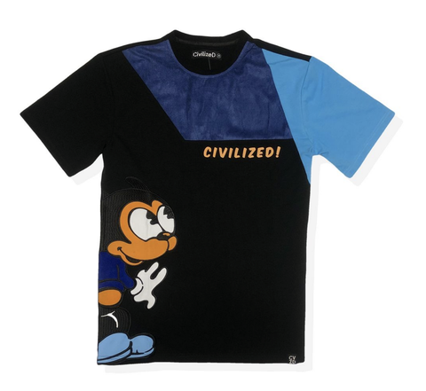 Euro Mouse Tee (Blue) /D2