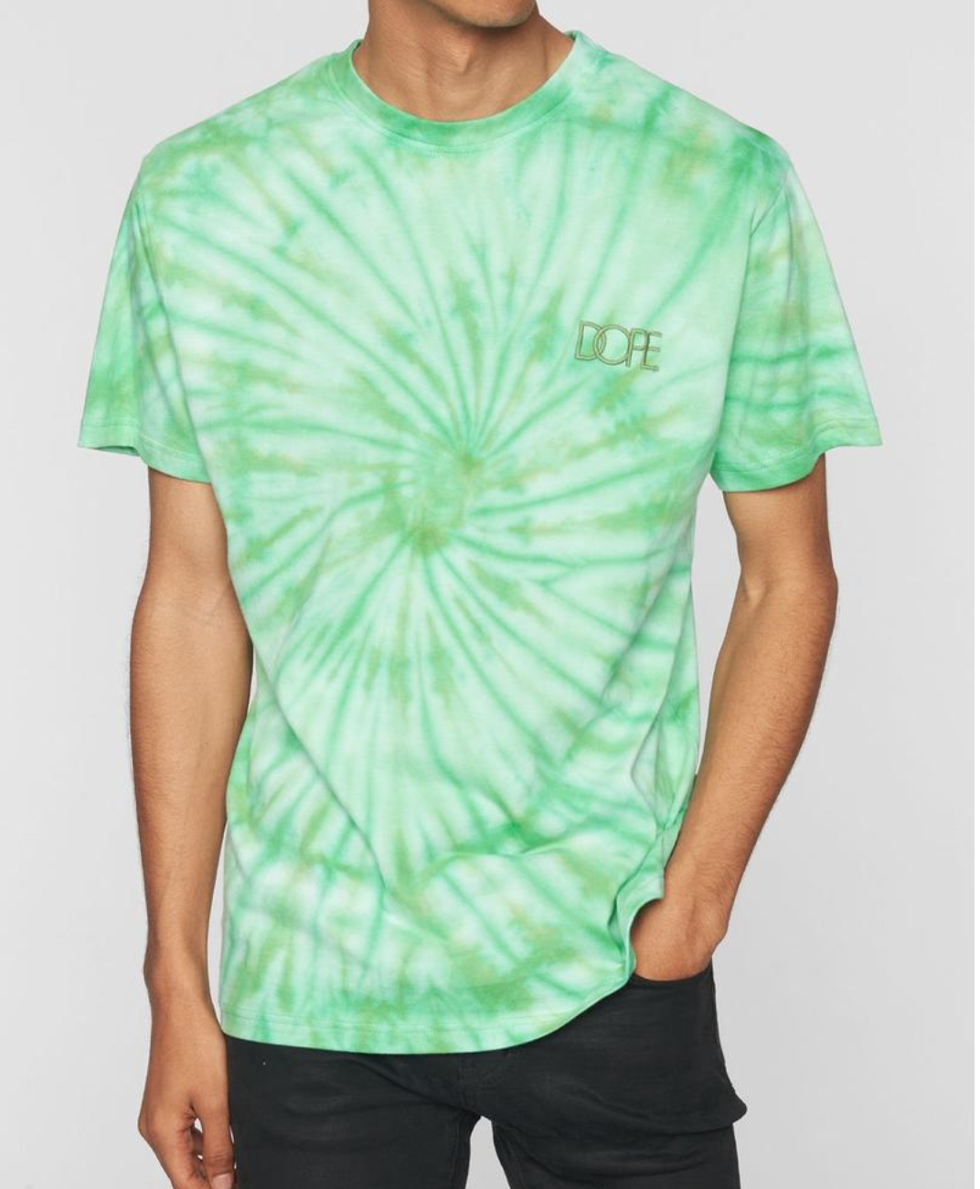 Savers Tie Dye Tee (Green) /D8