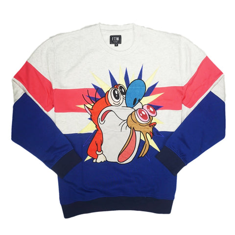 Shock Us Crewneck (Oatmeal Heather)
