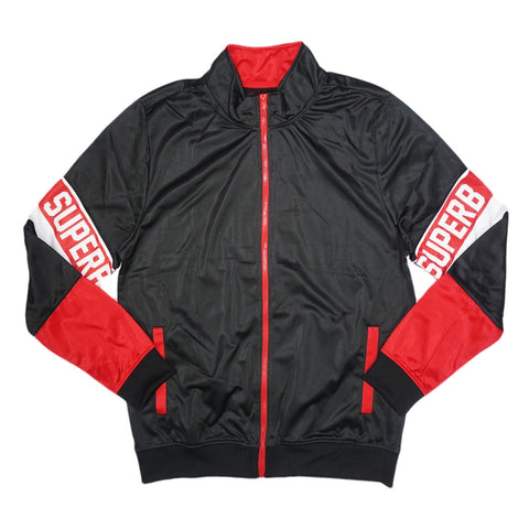 Superb Track Jacket (Blk/Red/Wte) /D11