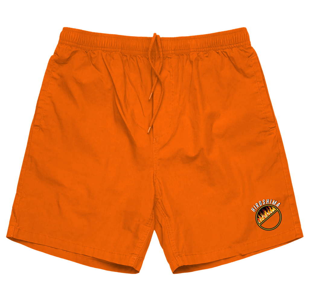 Hiroshima Shorts (Orange) /D1