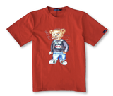 Thug Life Bear Tee (Red) /D17