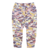 Camo Sateen Pants (Purple) / D11