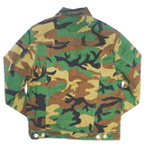 """Love"" Jacket Woodland Camo (Green) /D16"