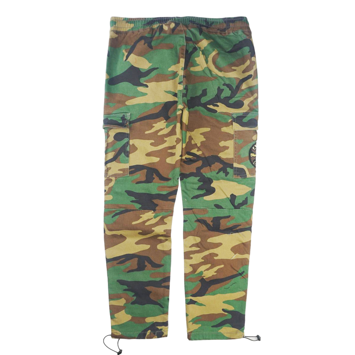 """Love"" Cargo Pants Woodland Camo (Green)  /D16"