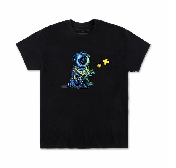 Deep Thoughts Tee (Black) /D6