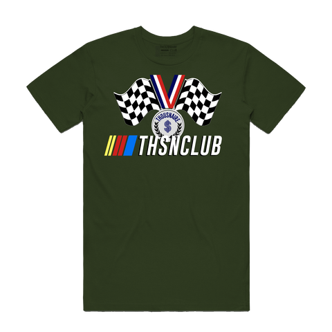 Race Medal Tee (Olive)