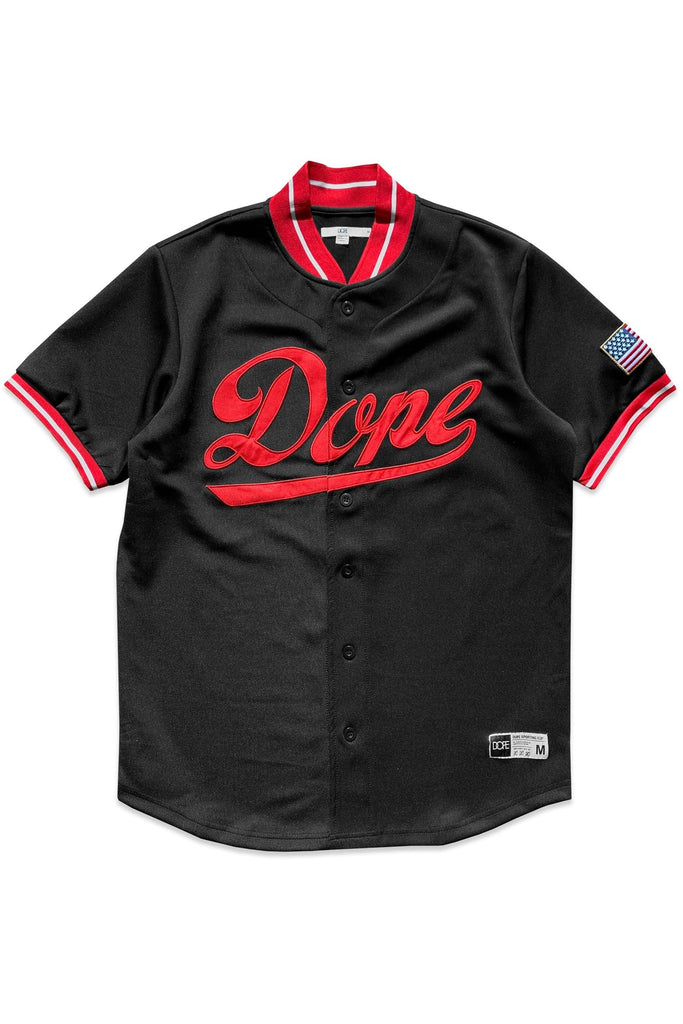 Infield Jersey (Black/Red) / D5