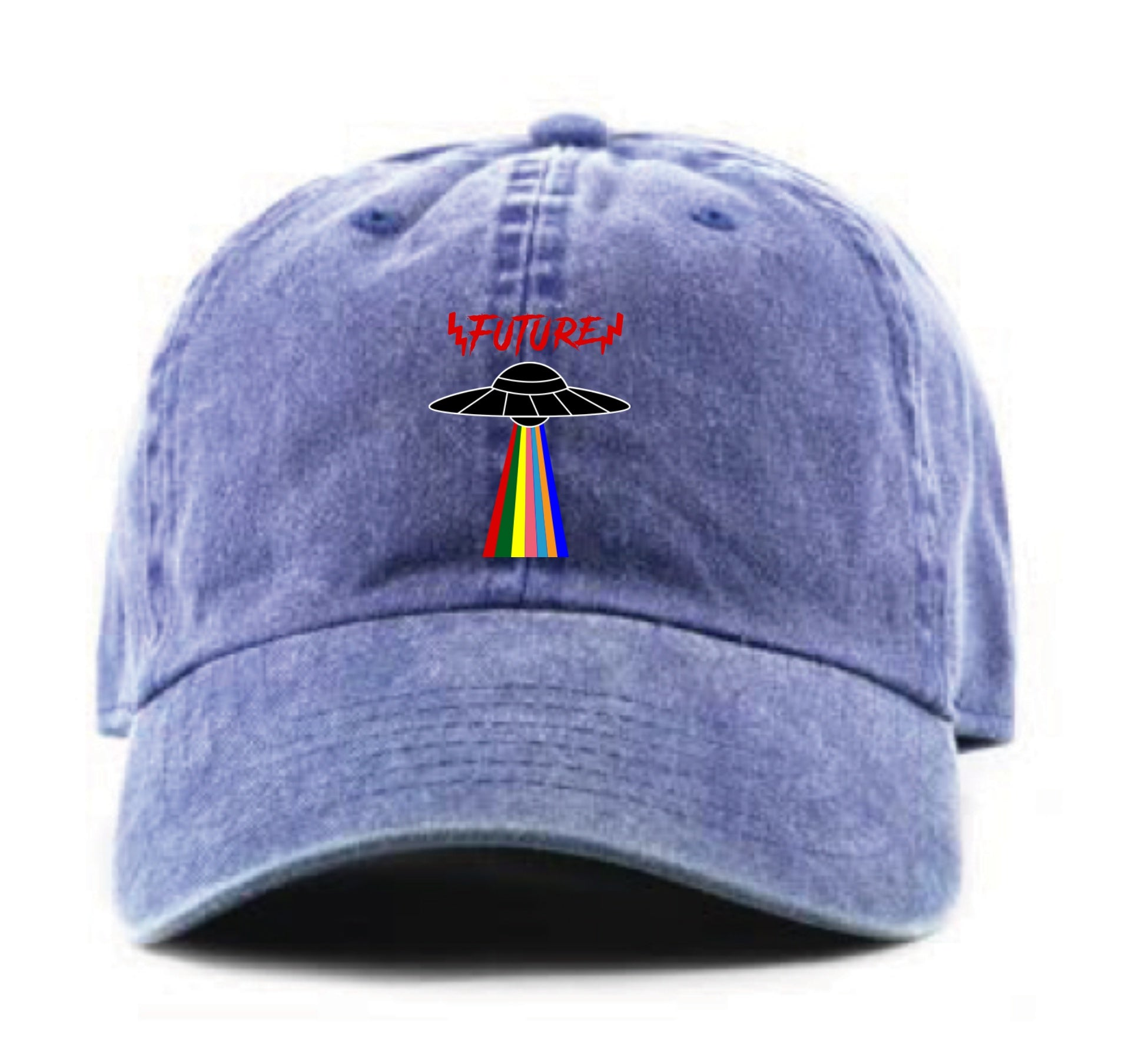 UFO Future Dad Hat (Denim Blue)