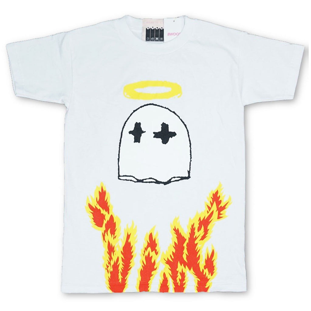 Gooney Le Flame Tee (White)