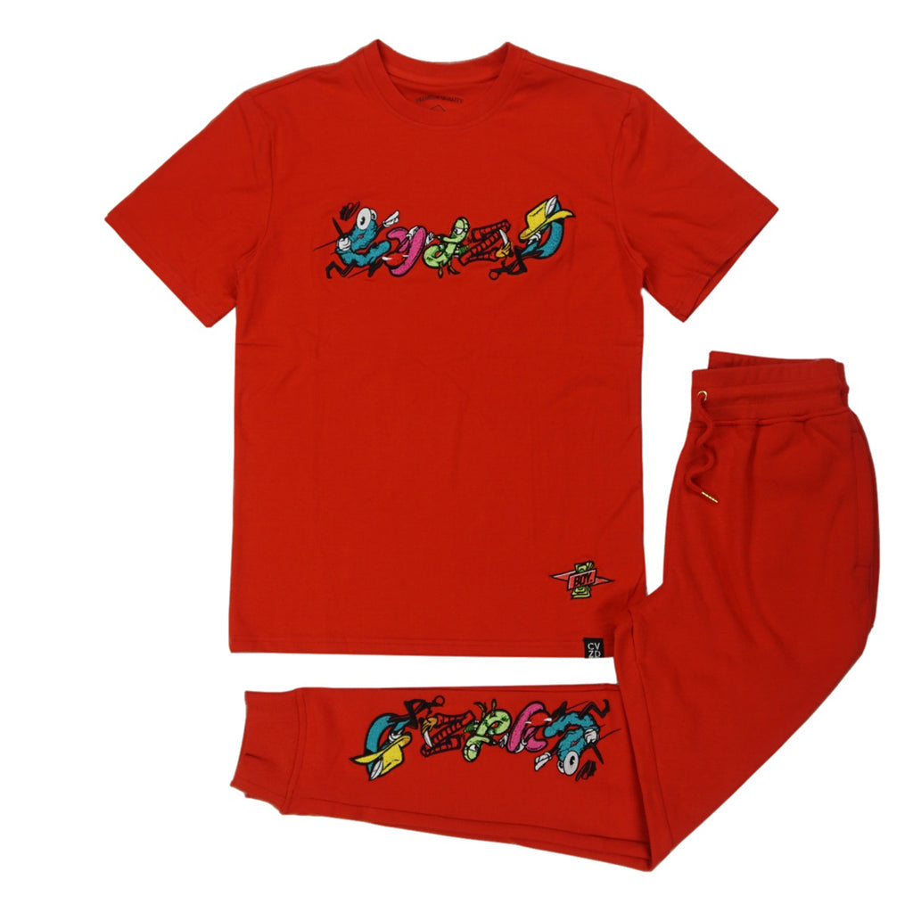 Character Jogger Set (Red) /D9