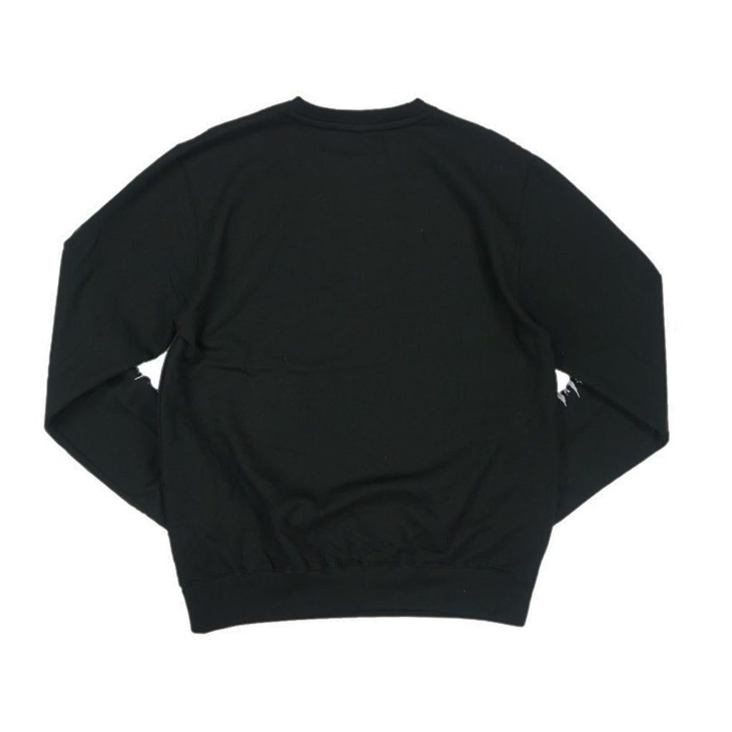 Neon Charlie Puzzled Crew (Black) /D13
