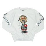 Charlie Puzzled Crew (White/Grey) /D13