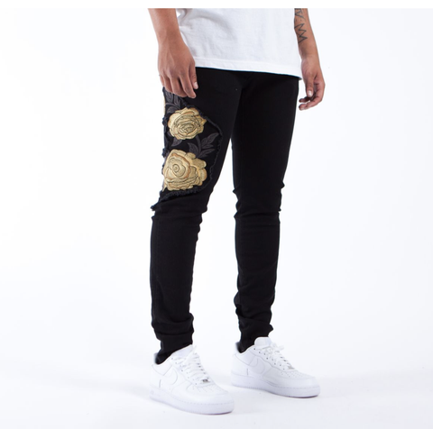 The Union Saint Rose Gold Patch (Black) /C3