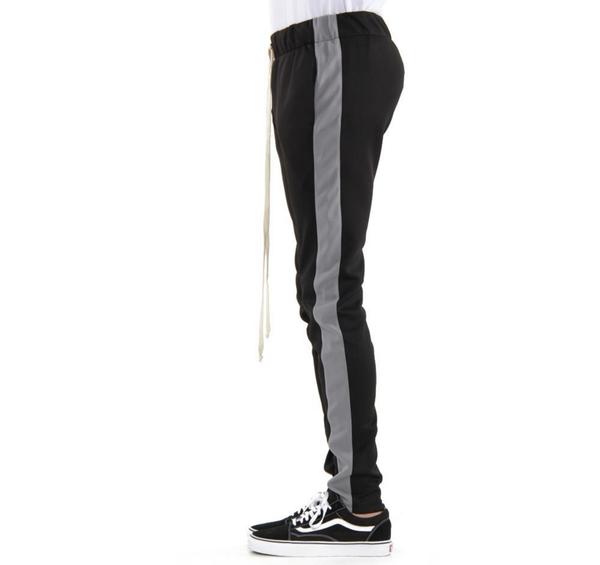 Techno Track Pants (Black/Gry) / C8