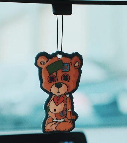 SG Bear Air Freshener (Brown)