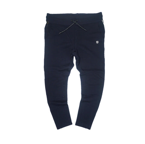 Denim Stripe Joggers (Navy) /C4