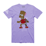 Bart Puzzled Tee (Lavender) /D8