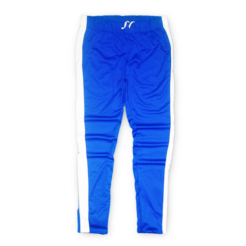 Techno Track Pants (Blue/Wte) /D4