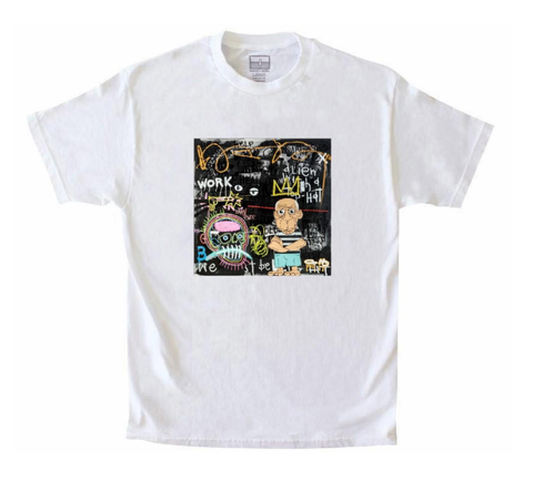 Man with a Vision Tee (White) /D16