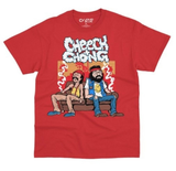 Couch Locked C&C Tee (Red) / D13