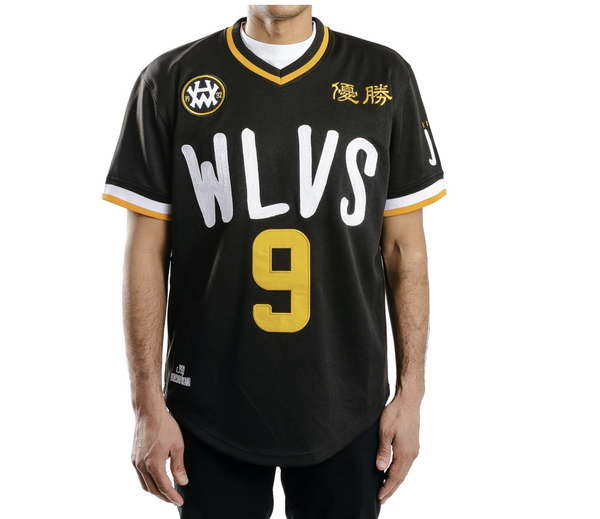 Wolves Home Jersey (Black)