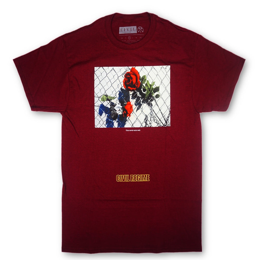 Never Ends Tee (Maroon)