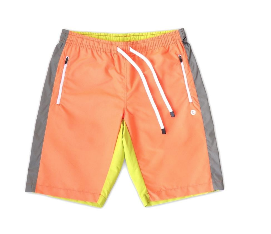 Hero Color Block Shorts (Safety Combo) / D12