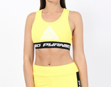 Wmn Logo Tape Sports Bra (Yellow) / MD2
