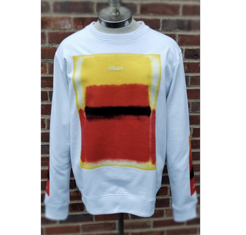 Sunrise L/S Crewneck (White) /D5