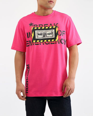 Emergency Cash Tee (Pink) / D18